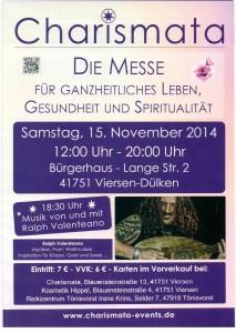 Kreativ-Engel.de ist am 15.11.2014 auf der Charismata