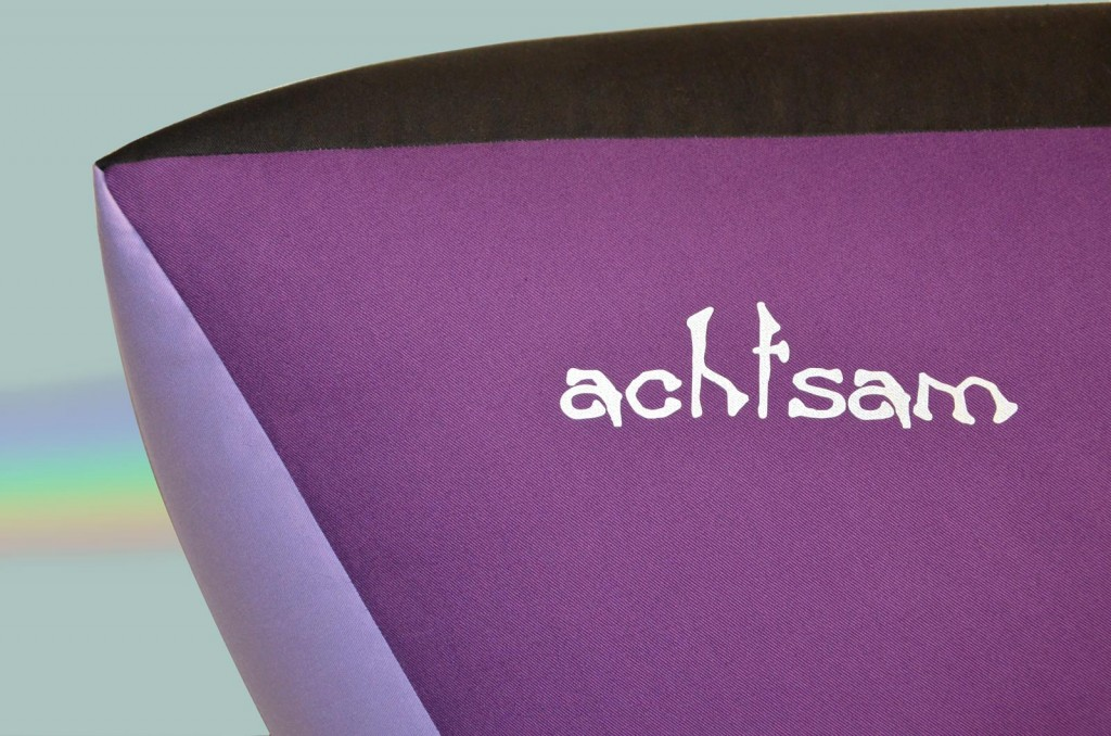Bodensitzkissen groß lila 4farbig achtsam,Kreativ-engel-shop.de