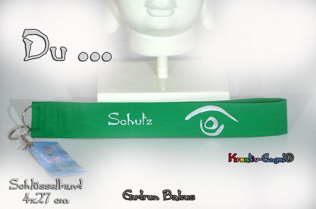 Schlüsselband 4 cm breit Schutz Gudrun Bakus Kreativ-Engel®