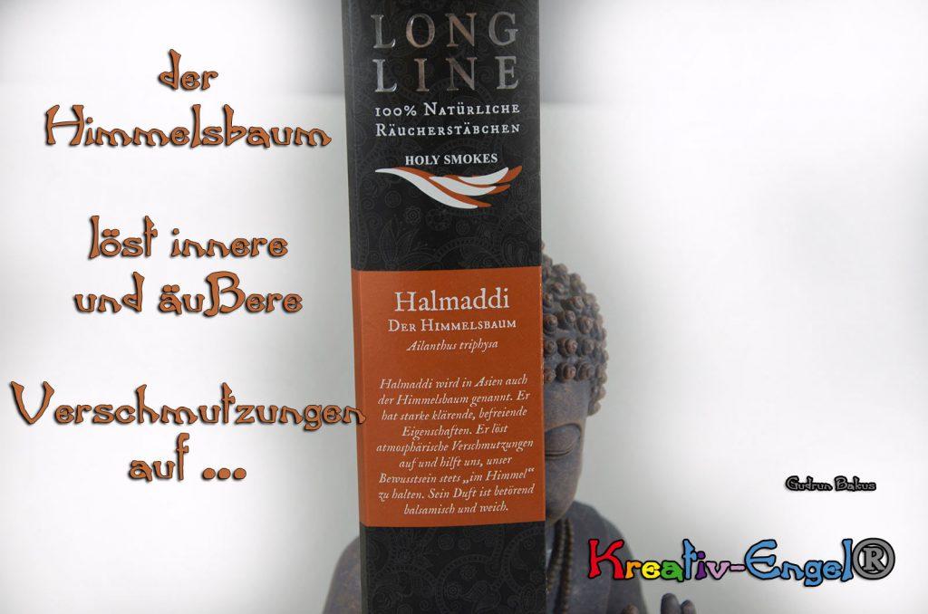 Räucherstäbchen Long Line Text Gudrun Bakus Kreativ-Engel®