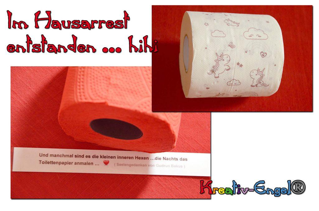 Gudruns Kreativ Schnappi Armband Toilettenpapier Geschenk Kreativ-Engel®