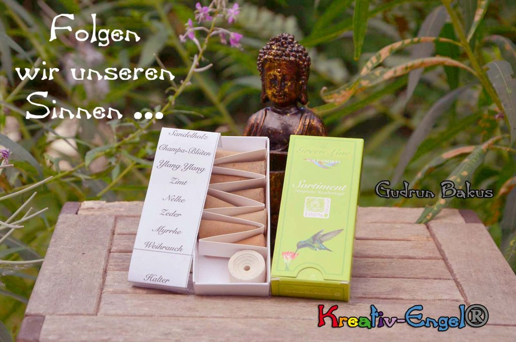 Räucherkegel Sortiment Green Line & Buddha Kreativ-Engel®